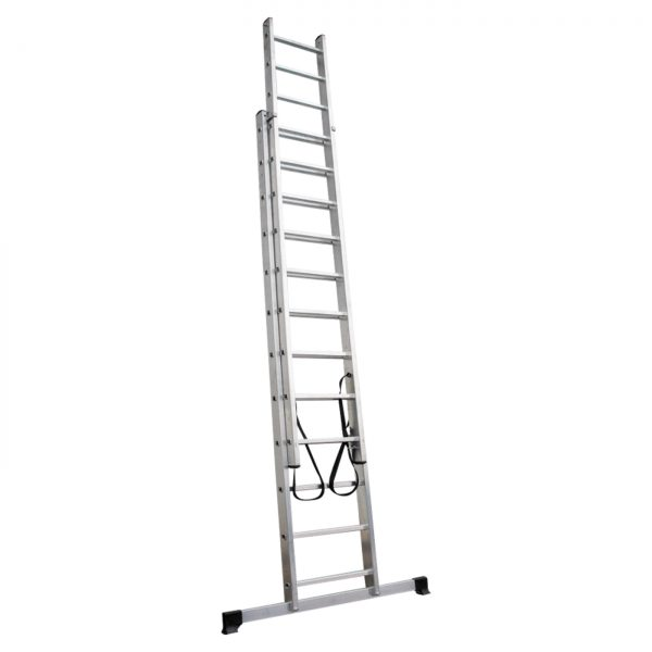 Two-section aluminum ladder VIRA 4220