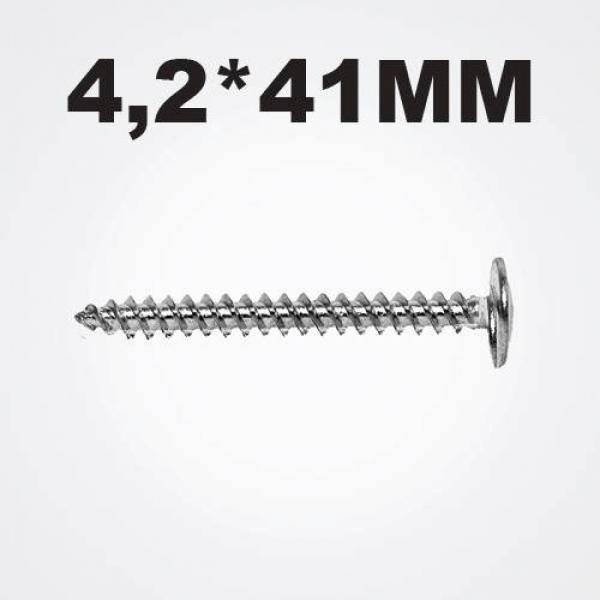 Screw zink 4.2*41mm (1 pack-400 pcs.)