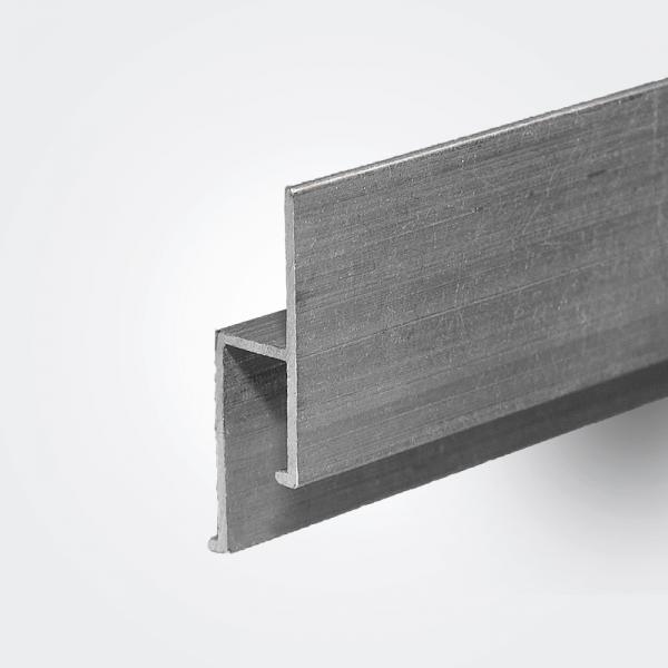 Aluminum wall profile EU lightweight, 2m