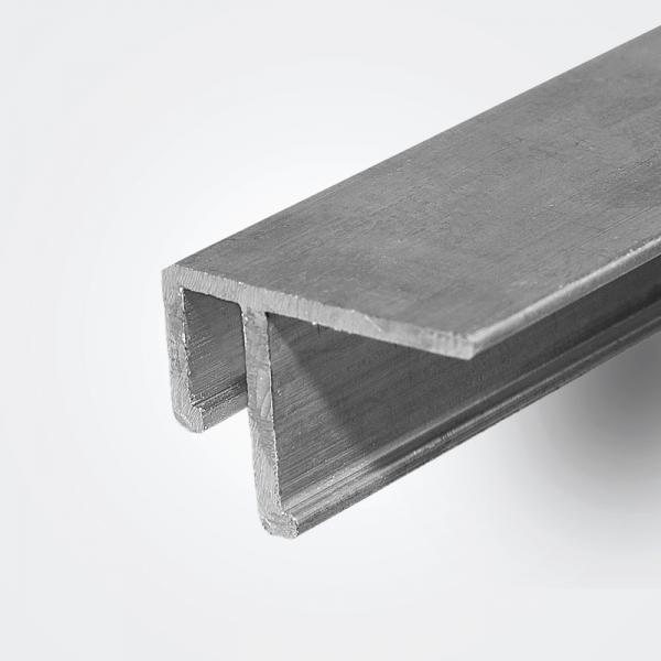 Aluminum ceiling profile EU 2m