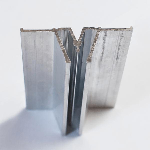 Aluminum separatory profile (wide) 2 m