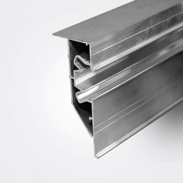 Aluminum profile PL75 with insert 2,5m