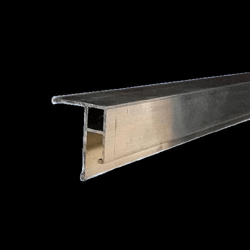 Aluminum universal profile EU 2,5 m