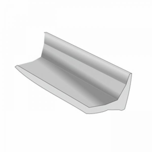 PVC white decorative tape angle (1 pack – 50 lm)